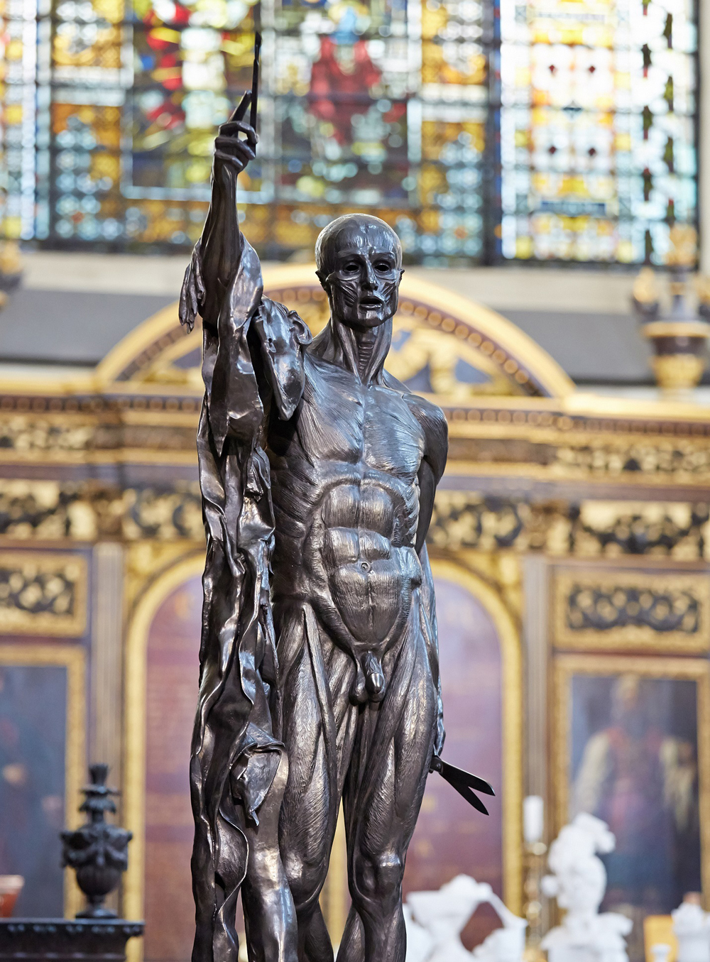 Saint Bartholomew, Exquisite Pain by Damien Hirst 2014