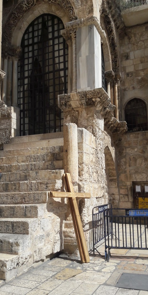 Pilgrim Crosses - Church of The Holy Sepulchre
