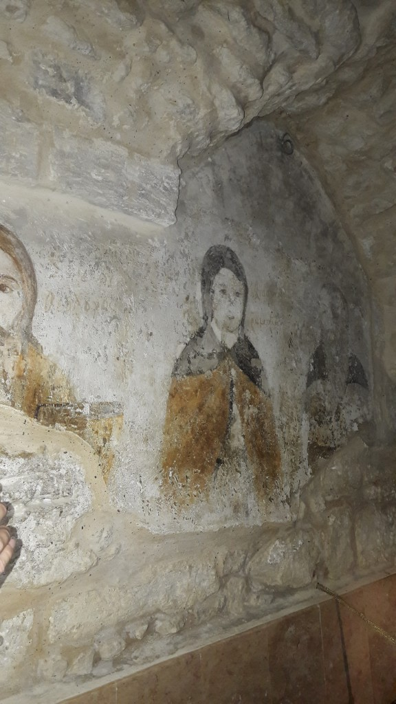Wall paintings in the monastery church