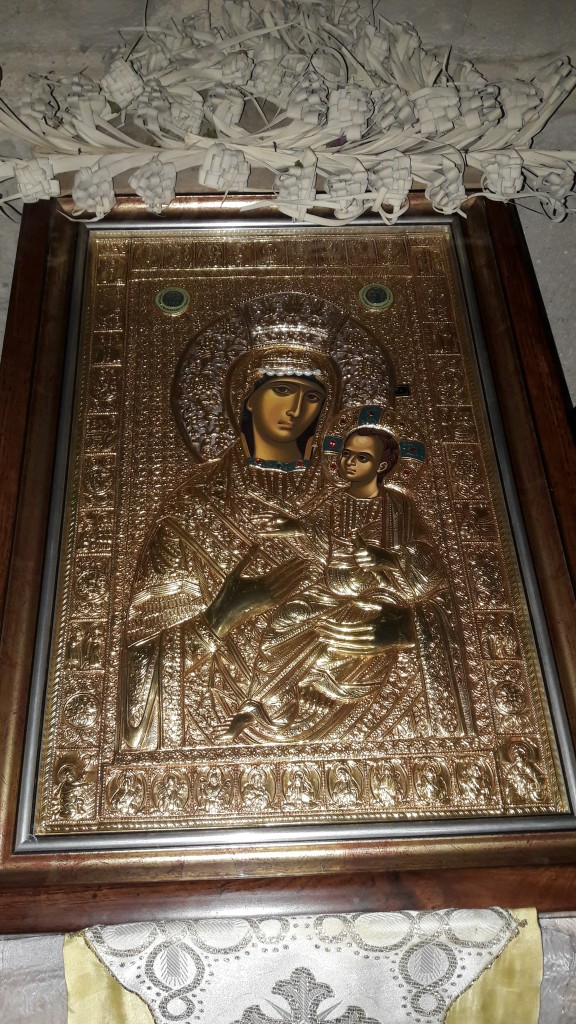 Icon of the Virgin Mother and Child