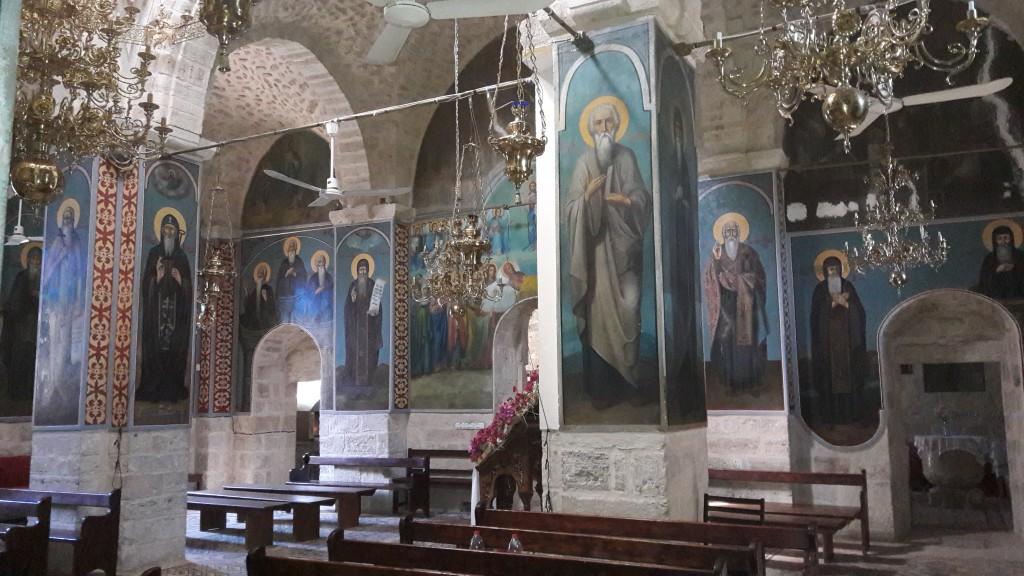 The monastery church