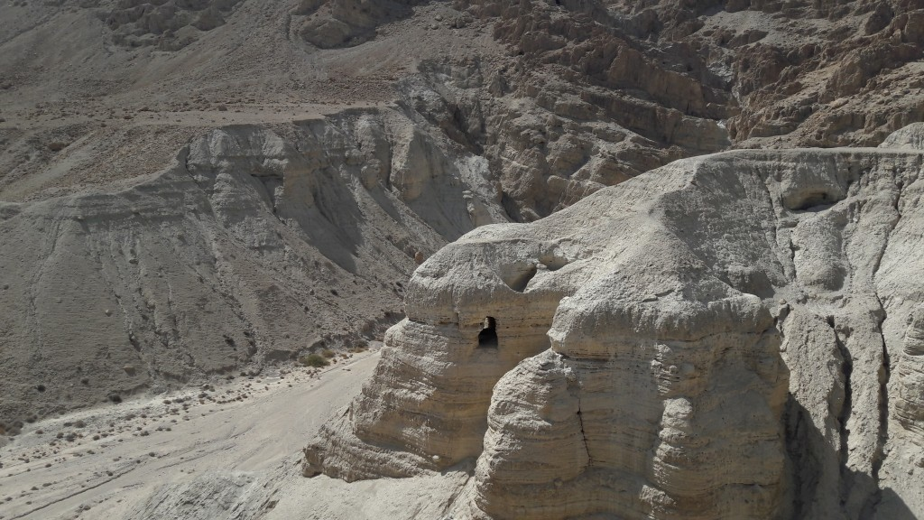 Qumran and Cave 4 - the cave where the majority of Dead Sea scrolls were found.